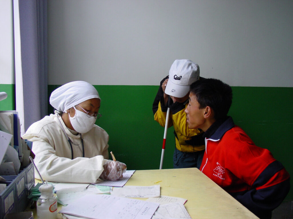 SARS Check-Up in Tibet 2013