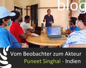 Puneet Singhal, kanthari-Teilnehmer, 2021